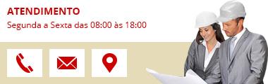 Atendimento - Segunda a Sexta das 08:00 às 18:00